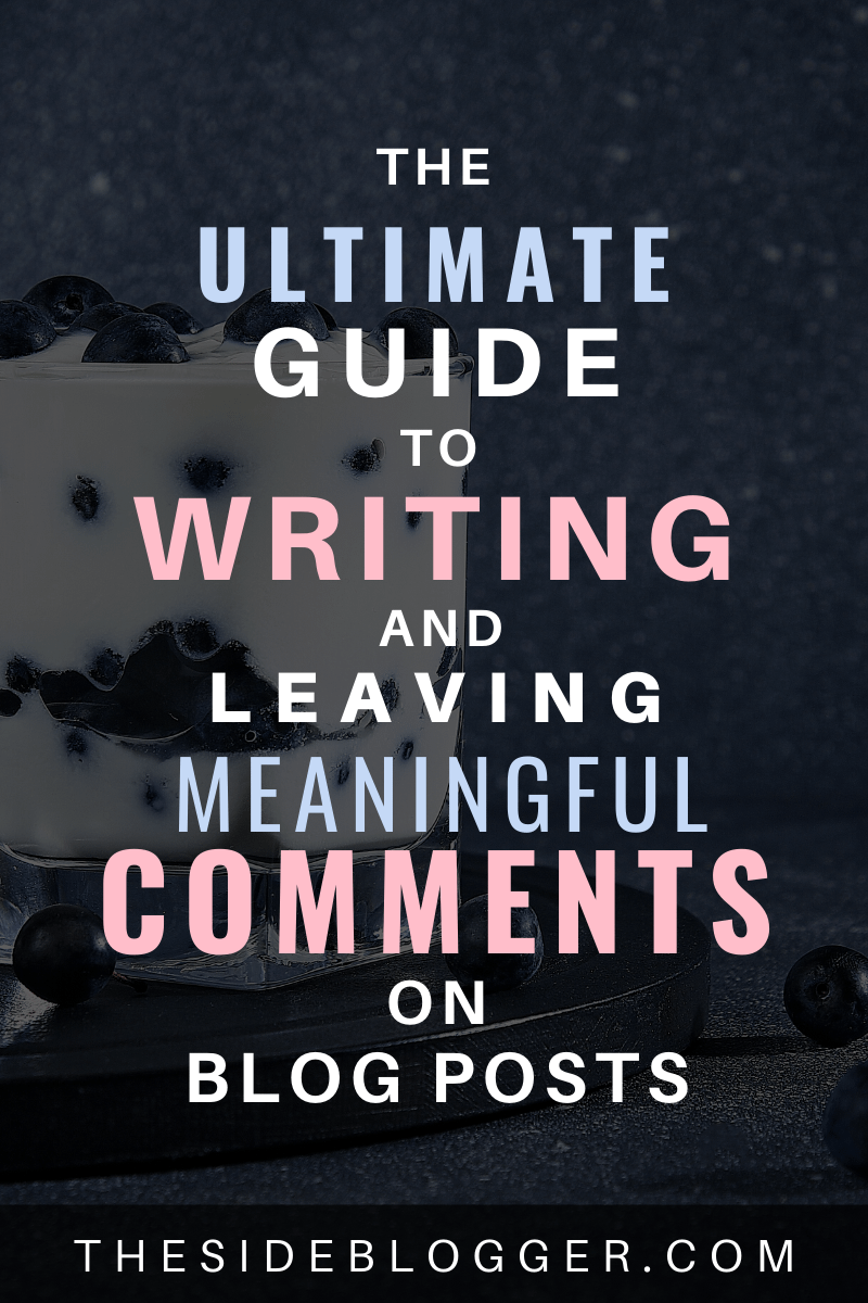 Commenting on other people's blogs, when done right, can be super beneficial and can even produce surprising opportunities! On the flip side, do it wring and at best you'll be wasting your time, and at worst, you'll ruin your brand reputation. Learn how to properly leave comments in this blog post. #blogging #blogger #bloggingtips #bloggingresources