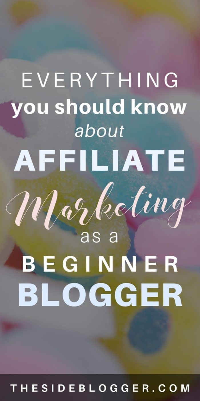 Everything you need to know about creating a passive income stream with affiliate marketing as a beginner blogger. - The Side Blogger #blogger #blogging #passiveincome #affiliatemarketing #makemoneyblogging #bloggingtips #blog