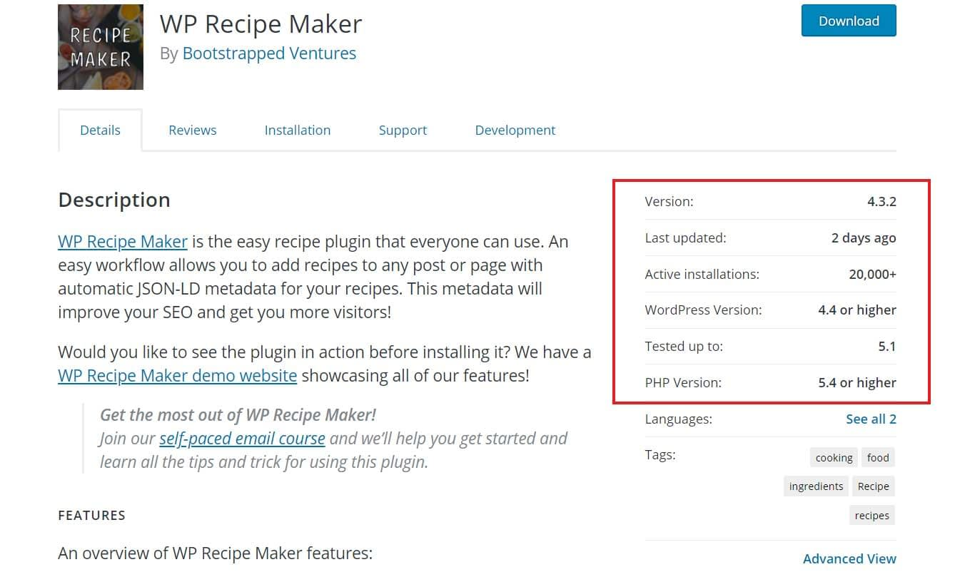 Check plugin stats in the main WordPress plugin page in the WordPress plugin repository.