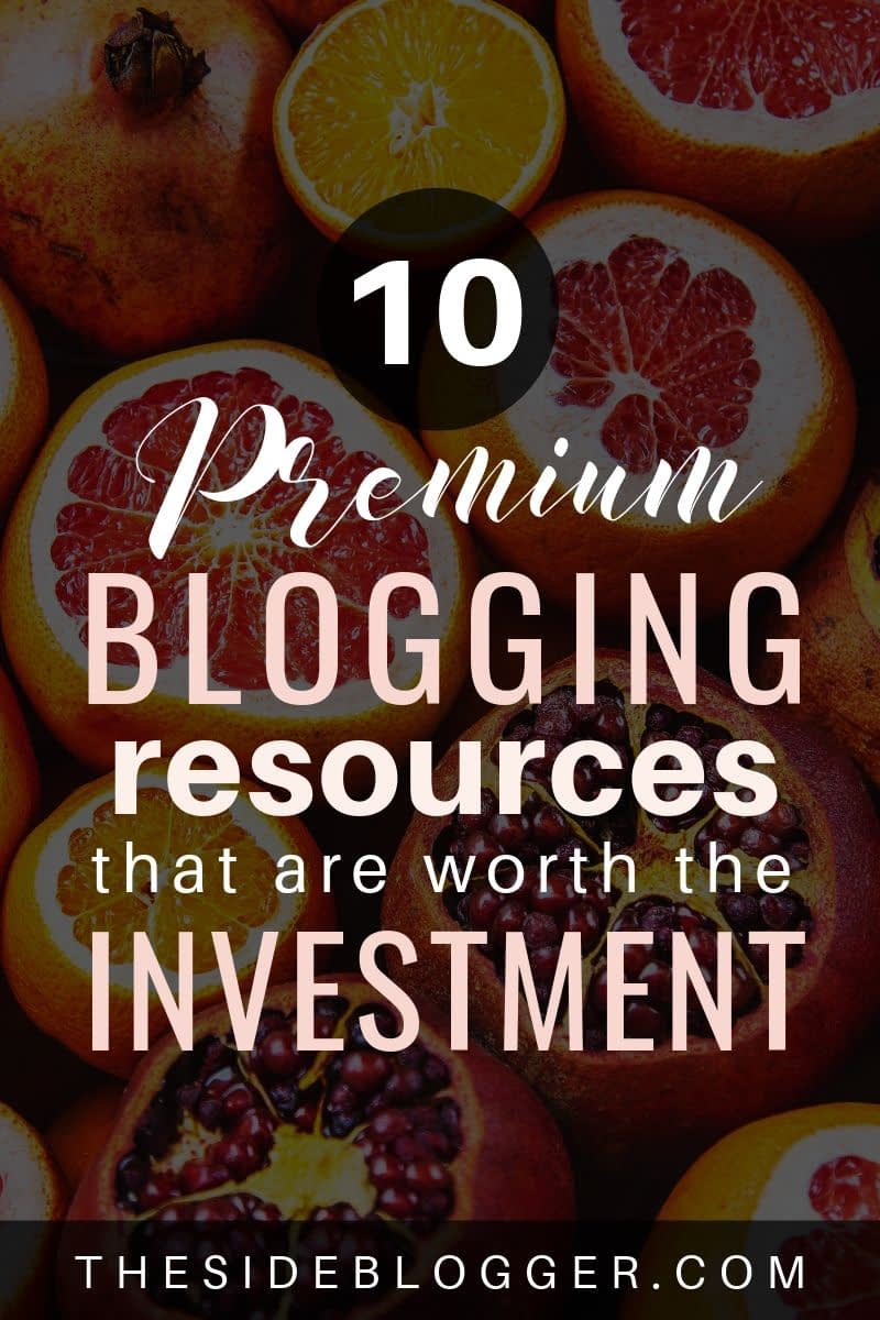 A list of 10 premium blogging resources to make your blogging life more productive and efficient.