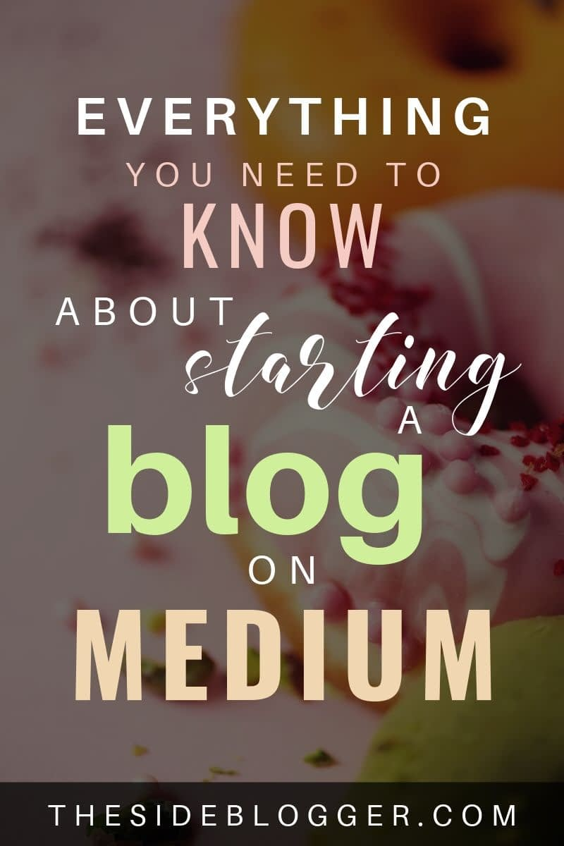 Everything you need to know about starting a blog on the Medium platform, and whether or not you should!
