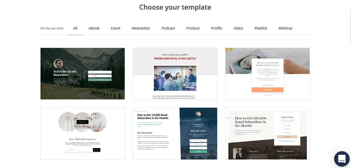 Choose the template that best fits your needs and aesthetics.