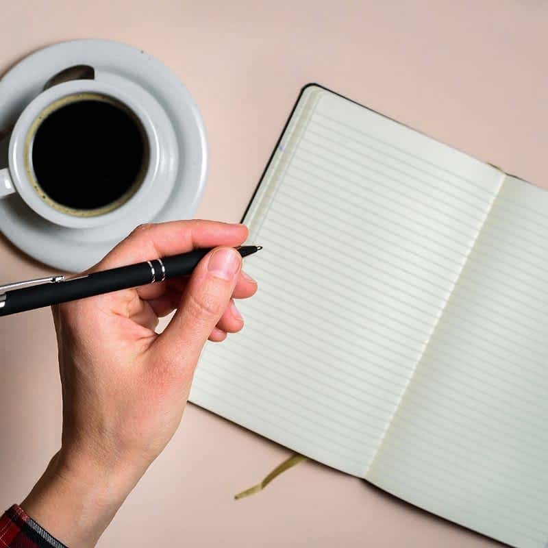 How to write even if you have writer's block.