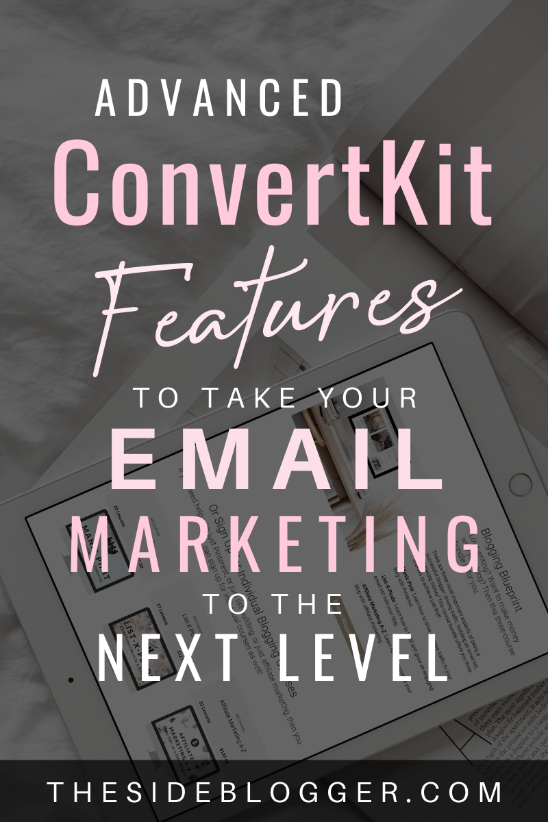 Advanced ConvertKit features to take your email marketing to the next level.
