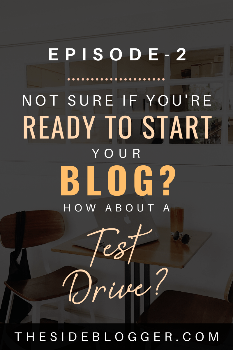 Podcast episode 2 - Are you blogging material? If you're not sure, here's a way to test it out.