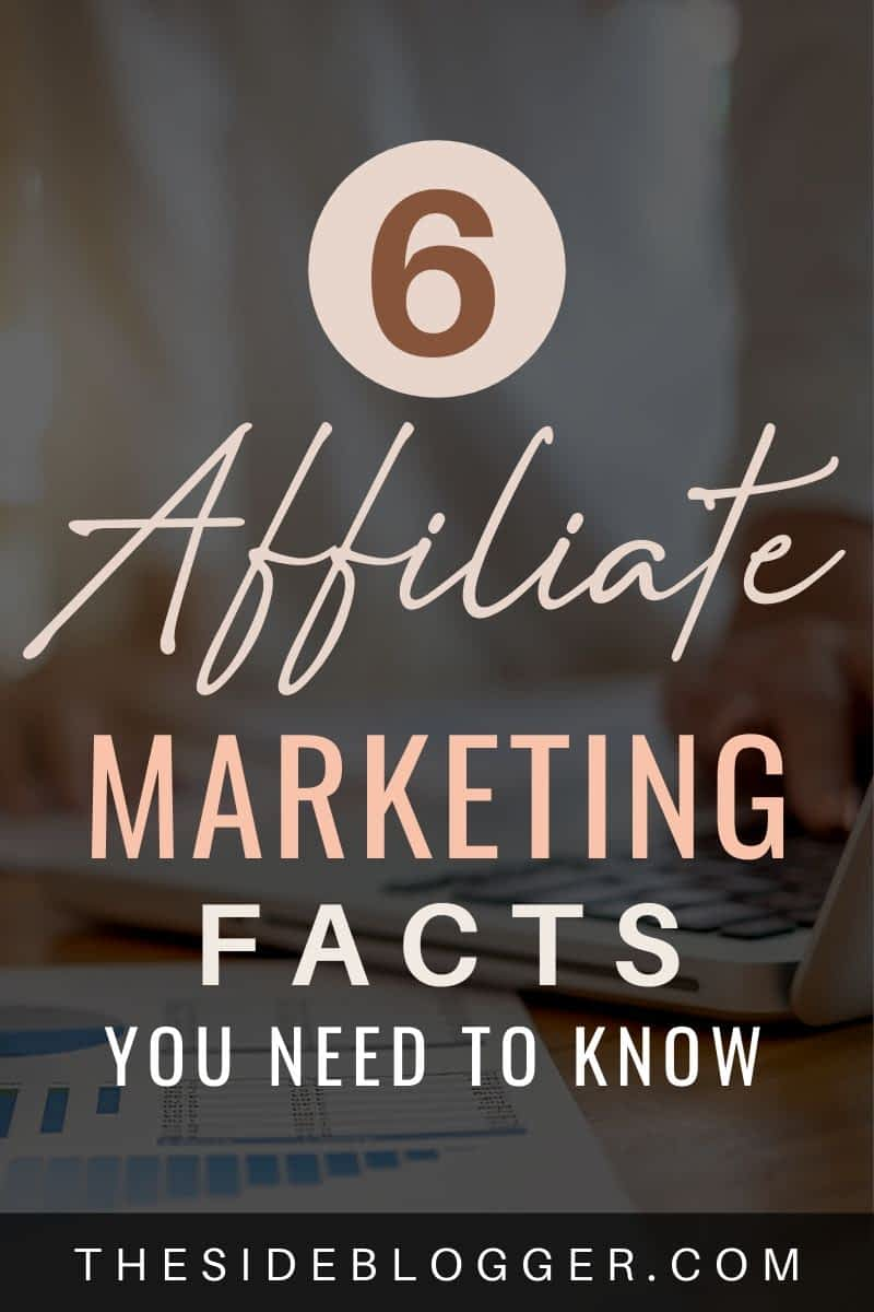 Affiliate marketing facts you need to know.