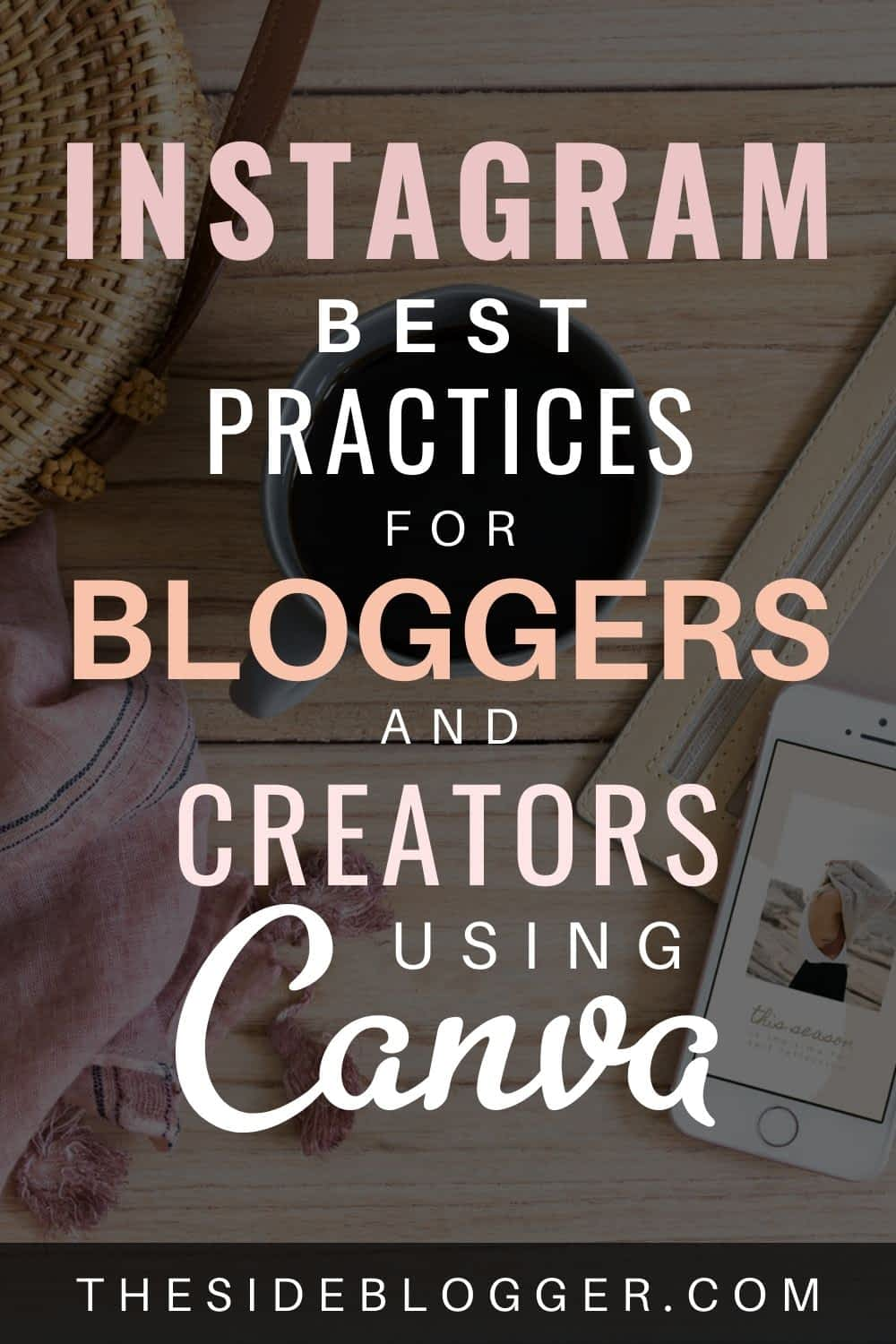 Scheduling Instagram posts with Canva