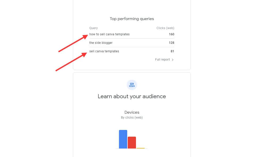 Google Search Console email screenshot