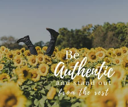 5 Tips for being authentic in a saturated world where no idea is a unique idea.