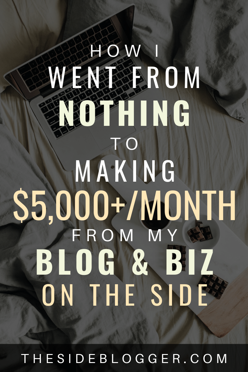 How I Went from Making Zero to $5,000 Per Month, In Two Years, On the Side