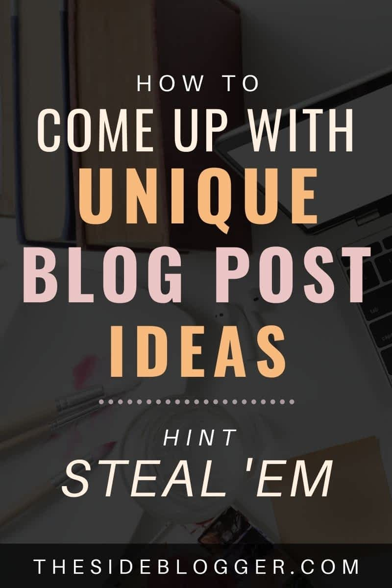 How to come up with new post topic ideas