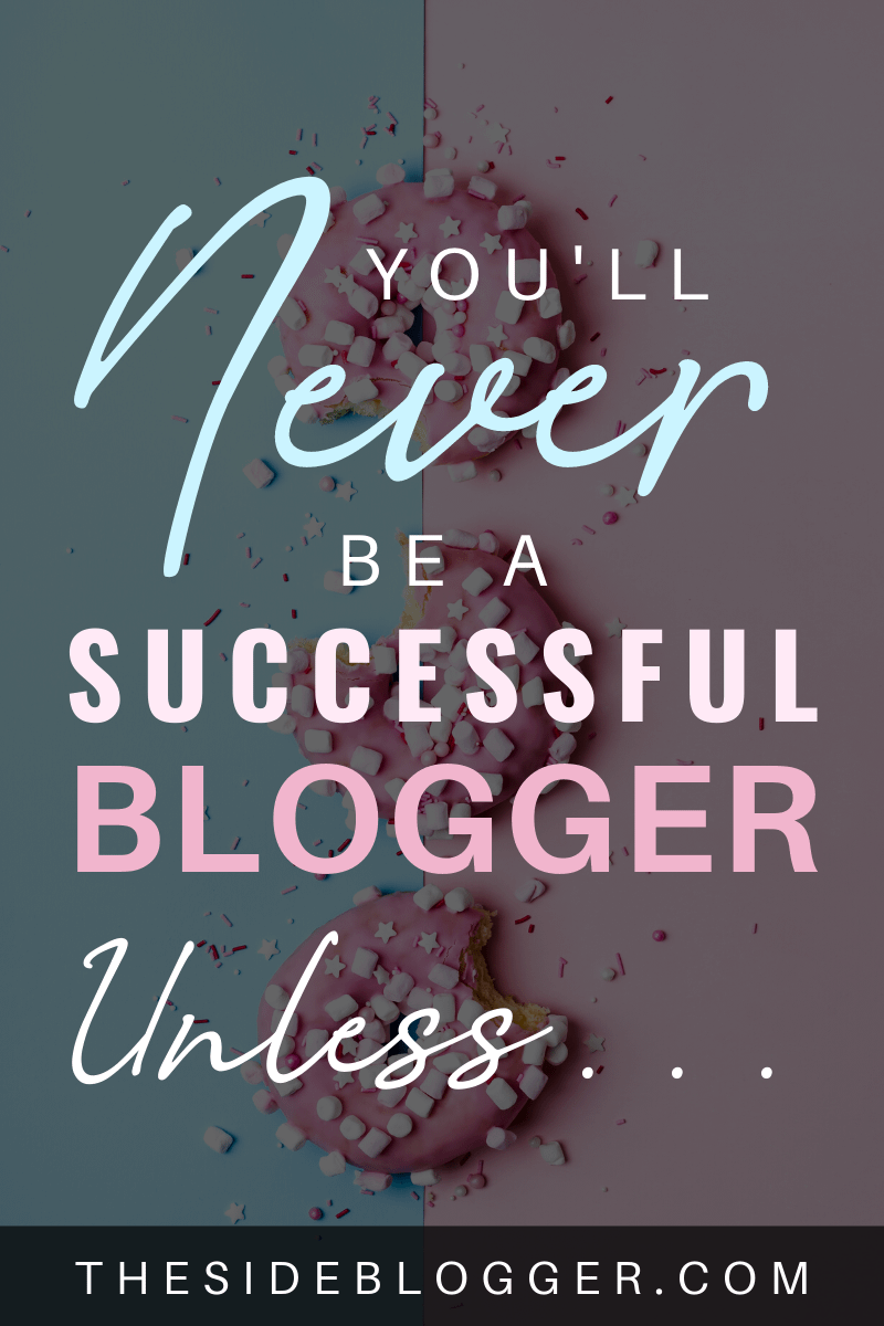 Three things you must have if you want to be a successful blogger.