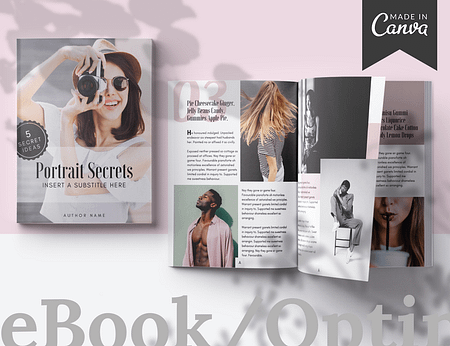 eBook or Optin Freebie Canva templates