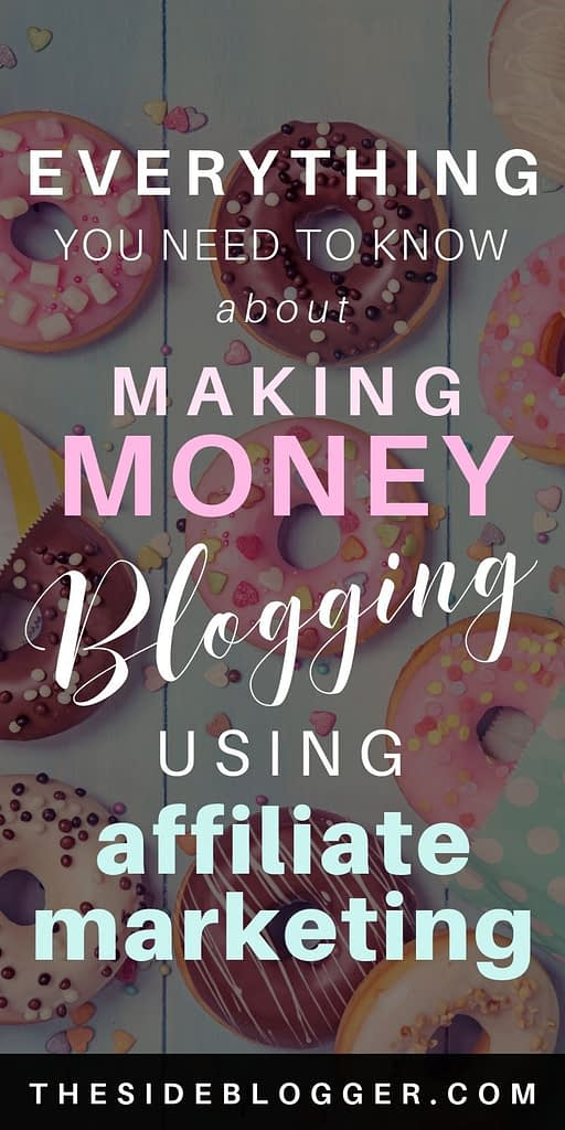 How to make money online using affiliate marketing with your blog.