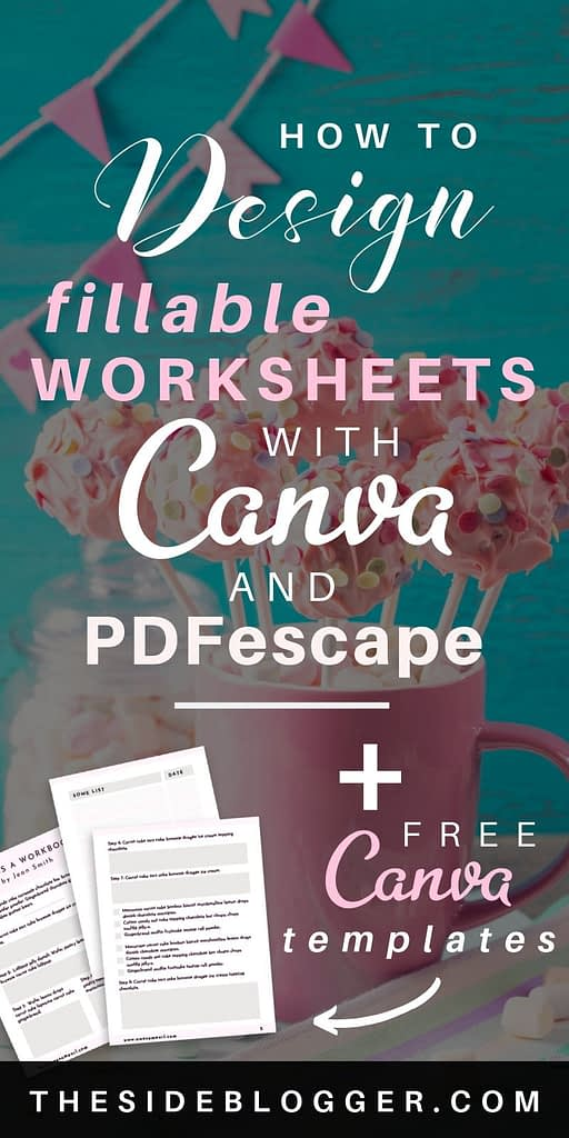 How to Design Worksheets in Canva (with Video) | The Side