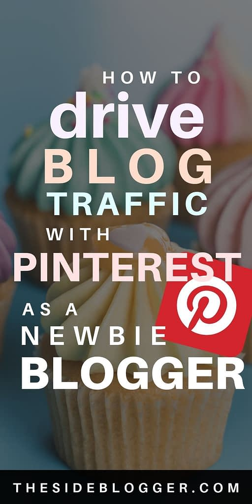 how to drive massive traffic to your blog with Pinterest - a tutorial for beginners.