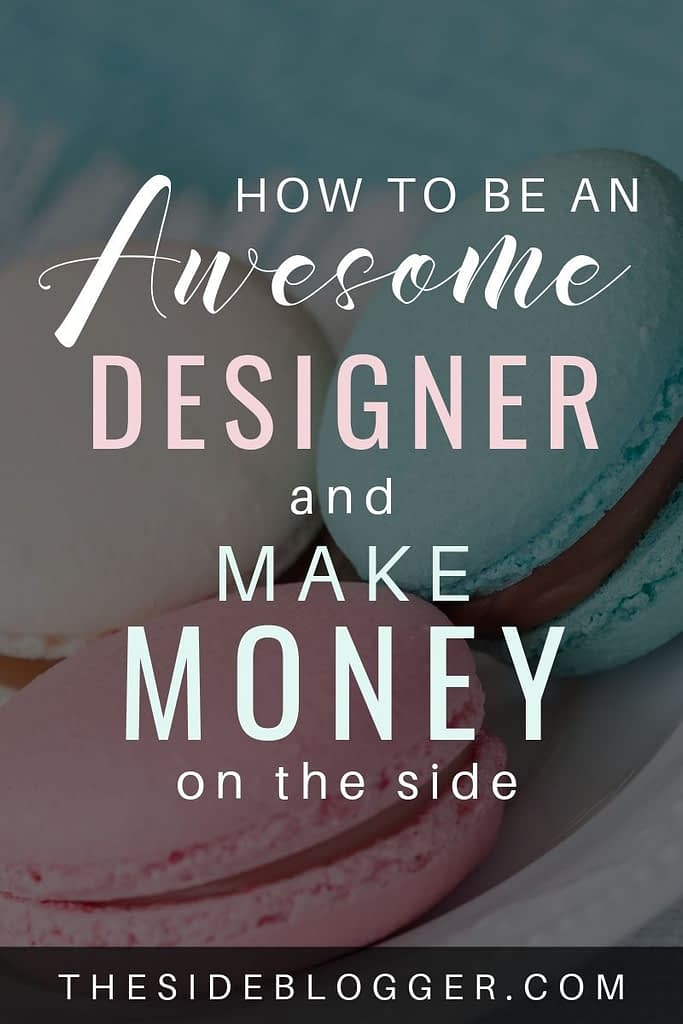 In this post, I'll show you how you can be a good design, with a strong want and a lot of practice, and make money as a designer, even if you lack an innate talent.