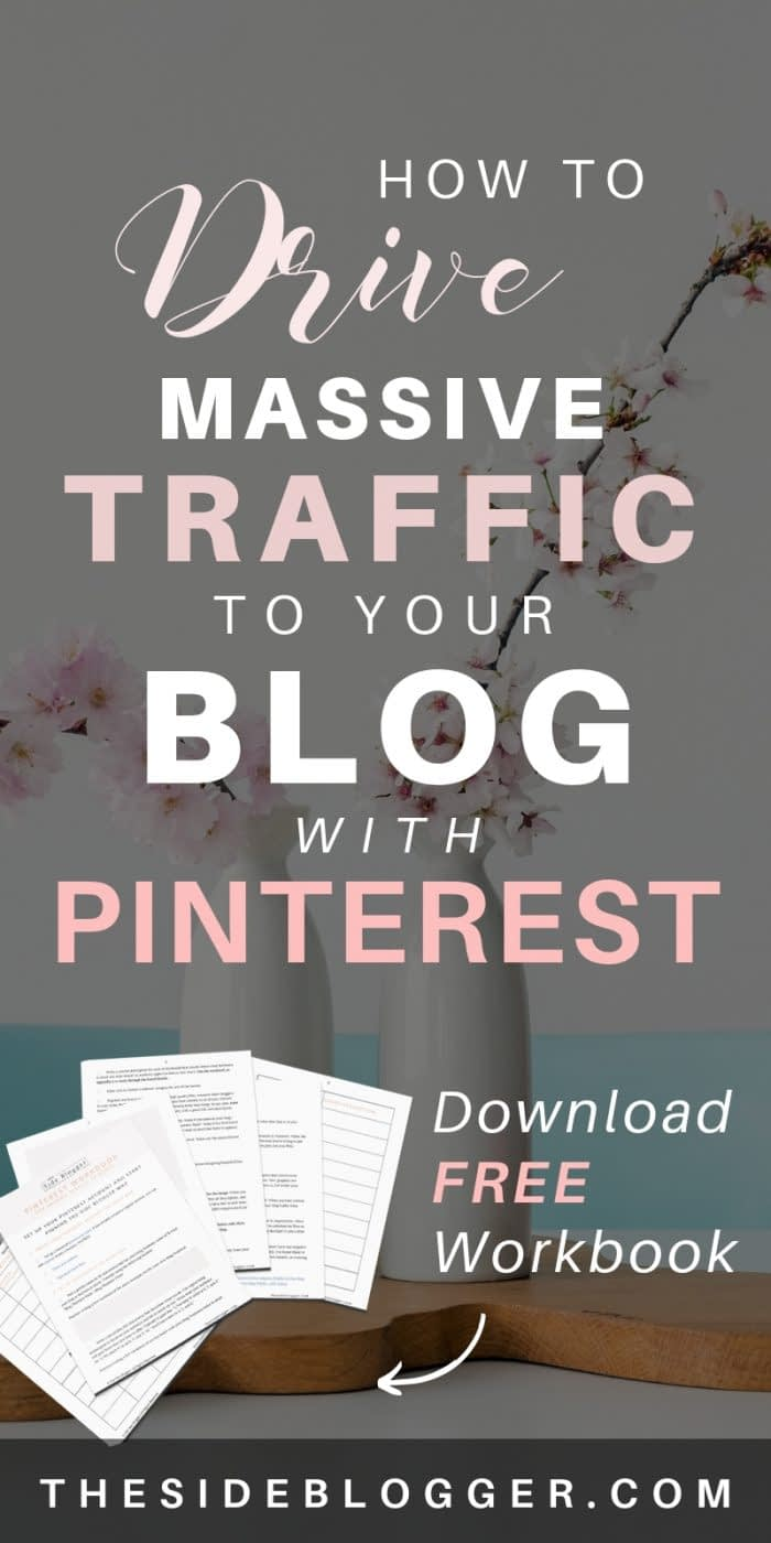 A complete Pinterest Tutorial | learn how to use Pinterest to drive massive traffic to your blog or business website. - The Side Blogger #blogtraffic #blog #blogging #blogger #bloggingtips #pinterest #pinteresttips